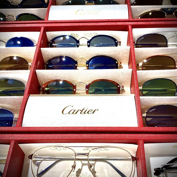 ab Januar 2021 Brillenfassungen von Cartier aus der neusten Kollektion